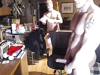 MMA Fighter Bare ATM Ginger MuscleBitch man (gay) gay porn (gay) amateur (gay)
