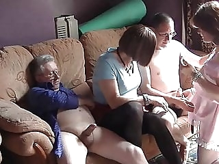 Maria and the cocks 1 crossdresser (gay) daddy (gay) group sex (gay)