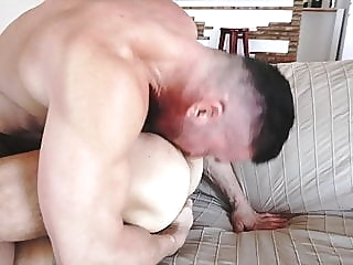 Tomas and Allen Rimming69 bareback (gay) big cock (gay) blowjob (gay)