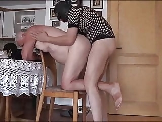 Lovely grandpa & masked strange guy suck & fuck each other amateur (gay) bareback (gay) big cock (gay)