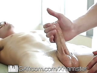 GayRoom Sensual massage turns into hot sex man (gay) gay porn (gay) big cock (gay)