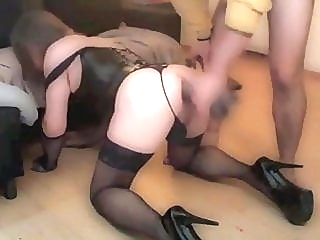 Sissy slave dominated by Master bdsm (gay) sex toy (gay)