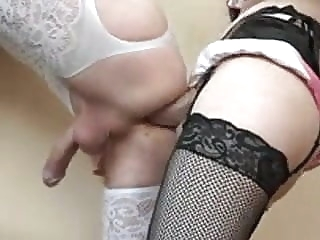 sissy slave get some from his queen amateur (gay) bdsm (gay)
