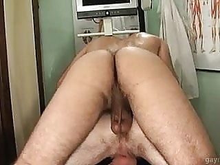 Patient gets his prostate massaged by gay doctor man (gay) gay porn (gay) blowjob (gay)