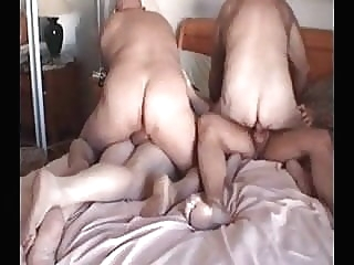 Four daddies man (gay) gay porn (gay) bear (gay)