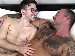 Hairy transgender FTM jock and softcore love with inked hunk amateur (gay) fetish (gay) gays (gay)