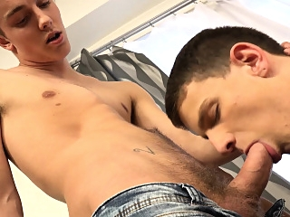 RAWEURO Firefighter Justin Brown Seduced By Facial Bareback bareback (gay) big cocks (gay) blowjob (gay)