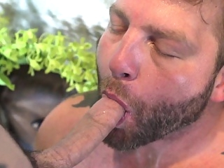 Throated inked twink assfucked by muscle jock blowjob (gay) daddies (gay) gays (gay)
