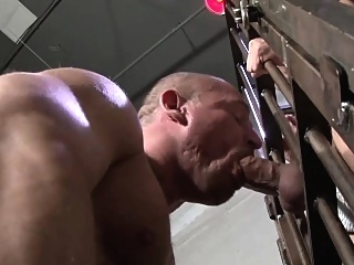 Raw dawged amateur bear asslick (gay) bareback (gay) blowjob (gay)