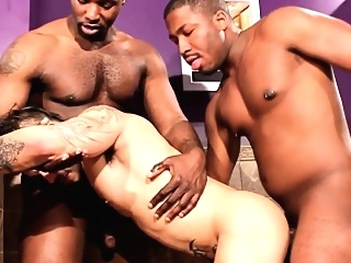 Pissing ebony assfucking white stud black gays (gay) blowjob (gay) gangbang (gay)