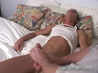 Brandon gets his amazing gay cock jerked part3 gays (gay) masturbation (gay)