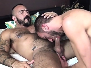 Amateur bear raw dawgs bears (gay) blowjob (gay) cumshot (gay)