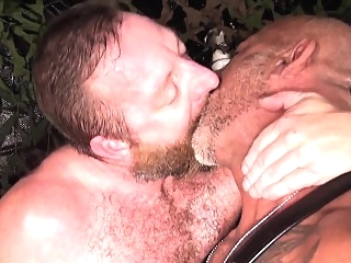 Ruthless hunks in bareback session bears (gay) cumshot (gay) daddies (gay)