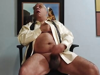 Shirt and Tie Jerk amateur masturbation gay jerking