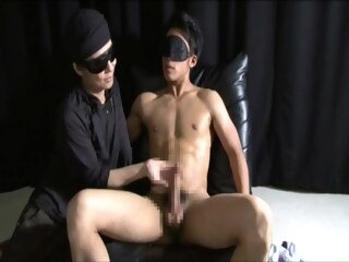 Some Blindfolds And Fetish Homo Play Here gay asian gay handjob gay japanese