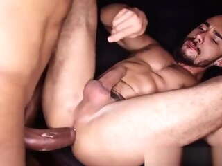 TT - Sly fucks Rafael Ferreira gay bareback gay big cock gay black