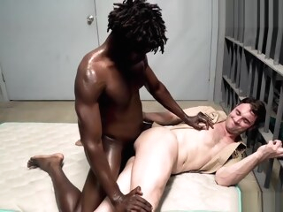 Prison Cocks - Contraband Cock Check gay bareback gay big cock gay interracial