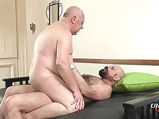 Chubby Granda Fucked Hard bear (gay) daddy (gay) fat (gay)