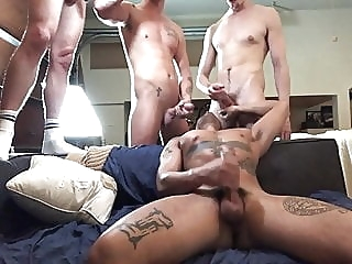 Orgy With Friends amateur (gay) bareback (gay) big cock (gay)