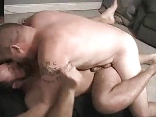 Bareback - Two Bears Fucking deeply man (gay) gay porn (gay) bareback (gay)