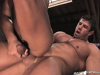 Zeb gets aggressive as he pummels Micah's tight, hot hole big cocks (gay) gays (gay) muscle (gay)
