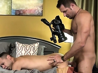 Muscular mature bear tasting creamy jizz bears (gay) gays (gay) masturbation (gay)