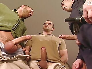 HORNYMSGUY big cock blowjob group sex