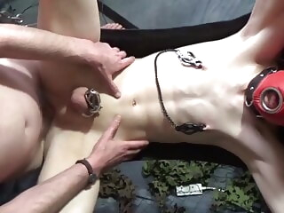 megatoy, pegged fucked and used twink amateur bareback