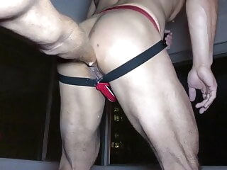 My ass fisted by HungGingerFF (ex-gngrff) fisting hunk muscle