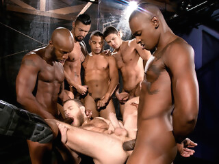 Into Darkness XXX Video: Race Cooper, Tyson Tyler, Shawn Wolfe, Boomer Banks, Trelino gay bear gay gangbang gay hd
